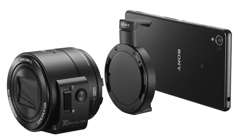 camera foto DSC-QX30