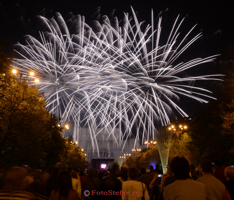 zilele bucurestiului artificii