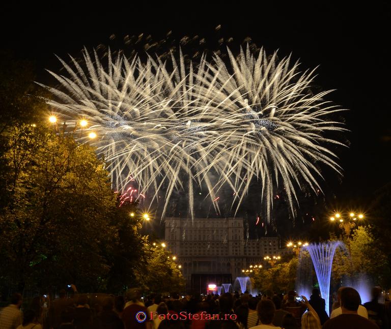 artificii zilele bucurestiului 2014