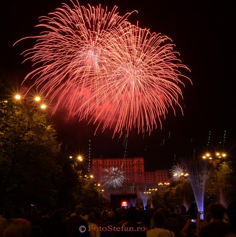 bucuresti 555 artificii