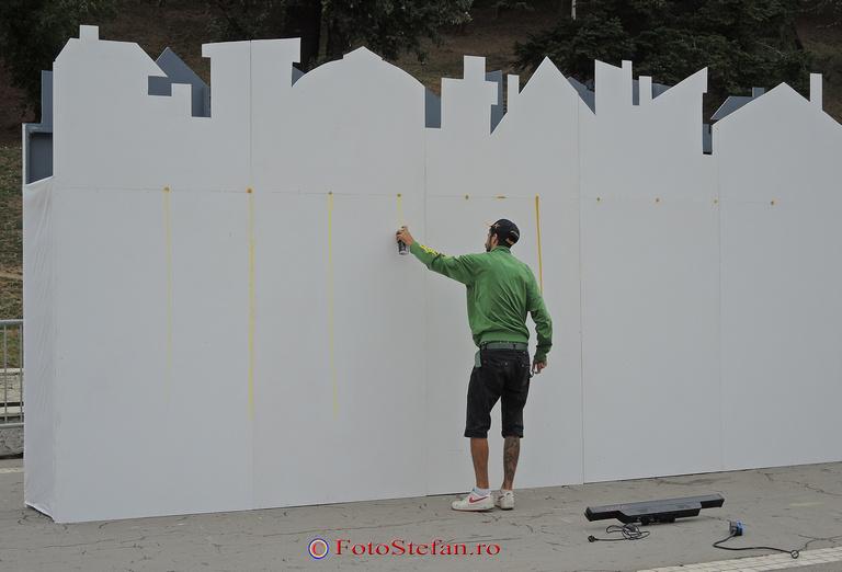 graffiti parcul tineretului
