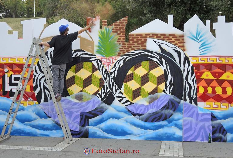 desenare graffiti bucuresti