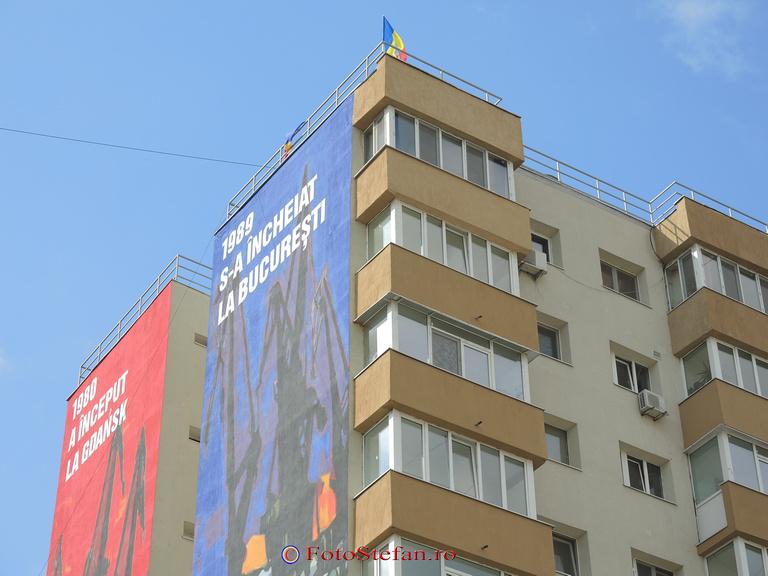 revolte anticomunism pictura murala