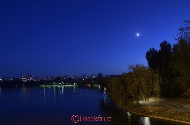 lacul titan seara tirziu