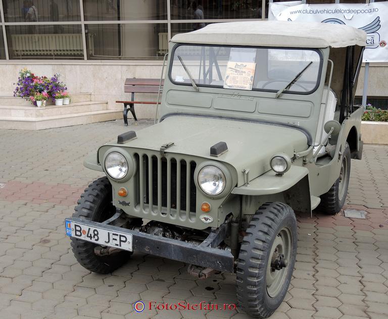 Jeep model CJ3A