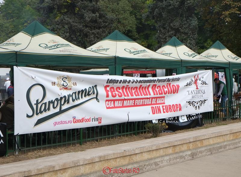Festivalul Racilor in parcul Herastrau