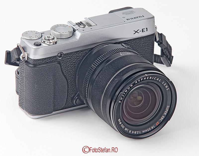 fuji x-e1 obiectivul Fujifilm FUJINON XF 18-55mm F2.8-4 R LM OIS
