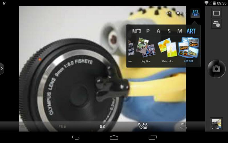 app OLYMPUS Image Share e-m10