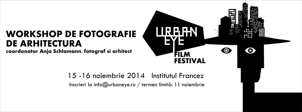 Workshop de FOTOGRAFIE DE ARHITECTURĂ