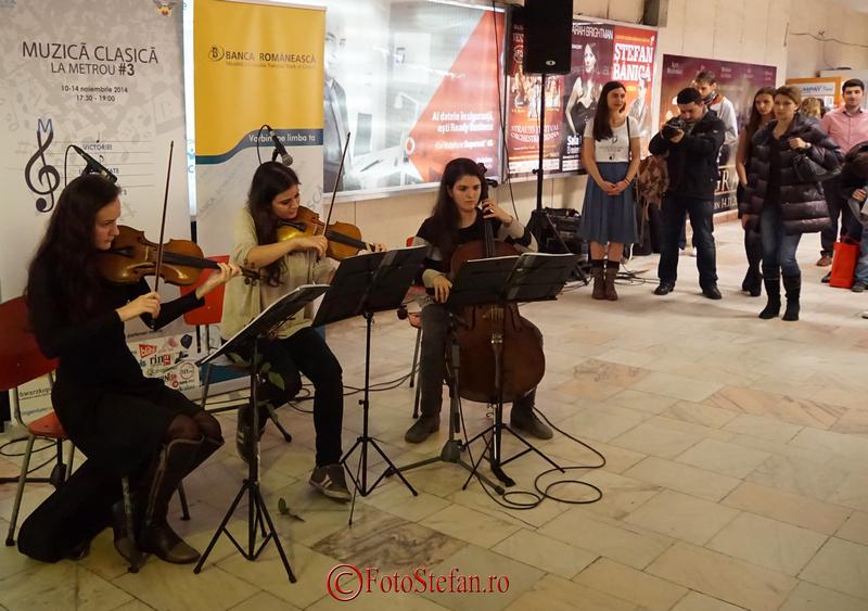 metrou piata victoriei muzica clasica