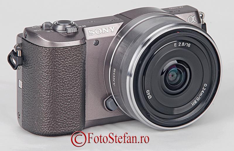 Sony 16mm f/2.8 pancake SEL16F28
