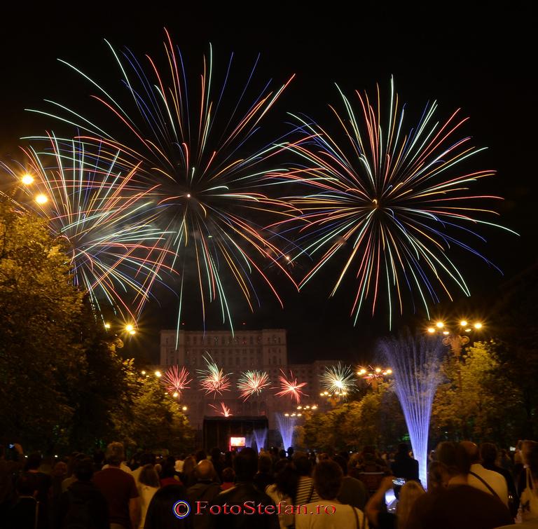 focuri de artificii piata constitutiei bucuresti