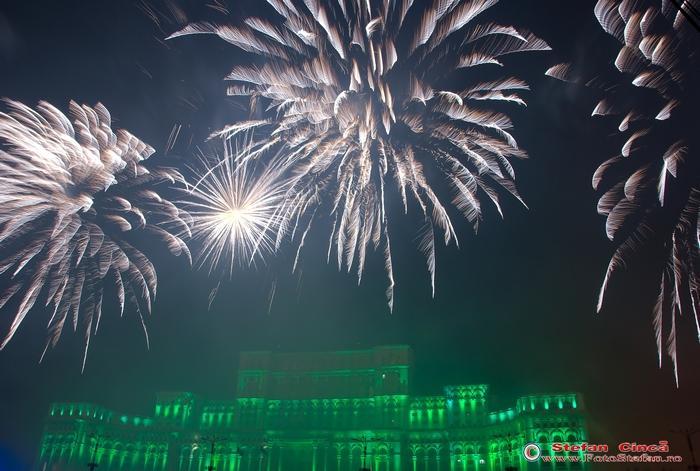 artificii casa poporului bucuresti