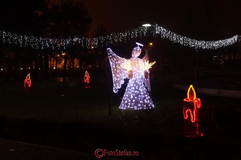 lumini craciun parc bucuresti