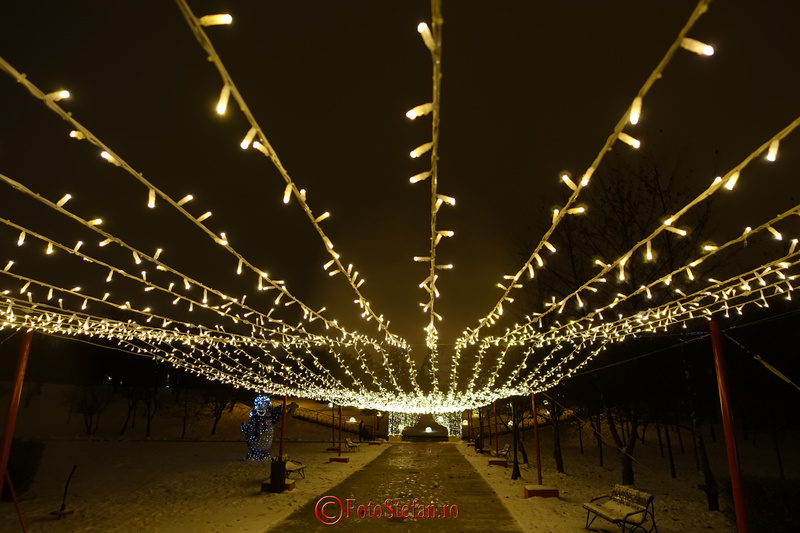 lumini sarbatoare iarna parc bucuresti