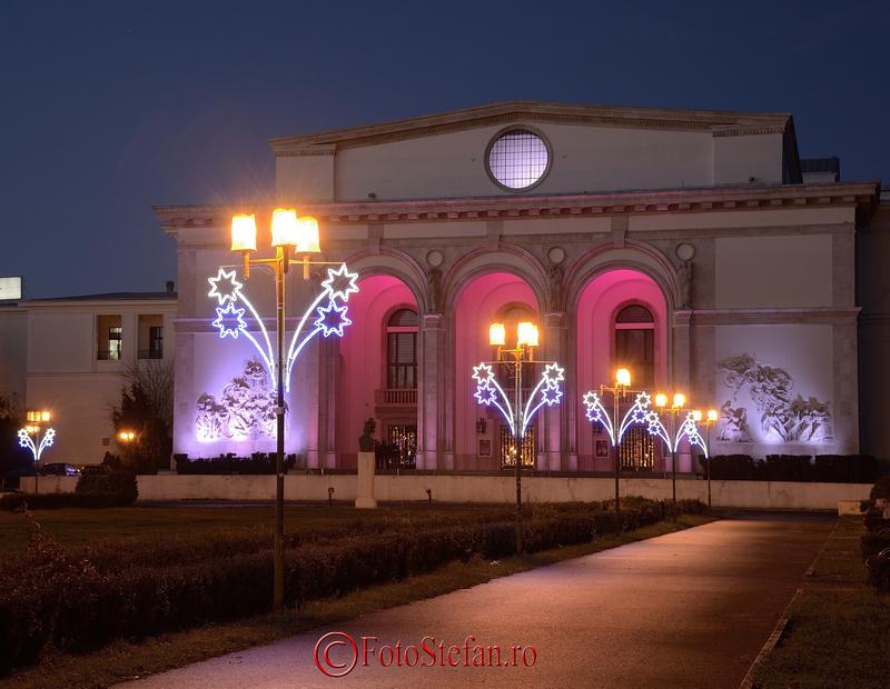 opera romana lumini