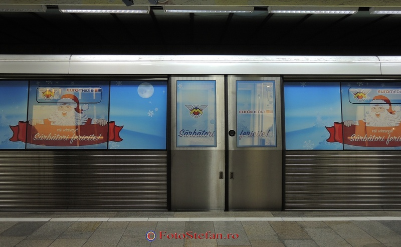 metrou de sarbatori de iarna