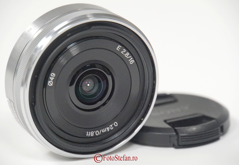Sony 16mm f/2.8 pancake (SEL16F28.AE )
