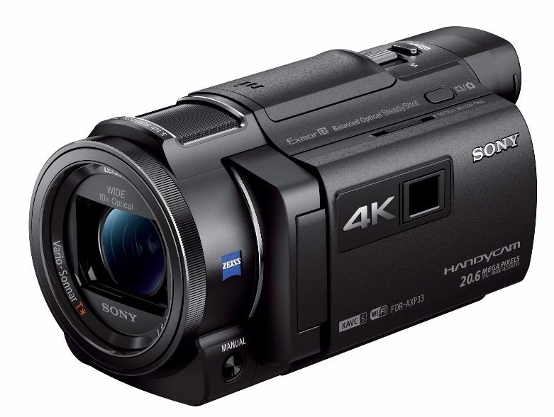Sony Handycam FDR-AXP33 4k