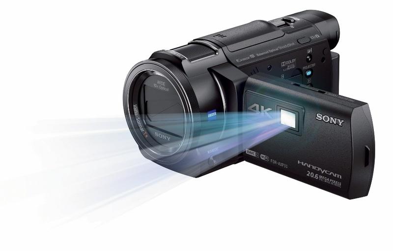 camera video cu proiector