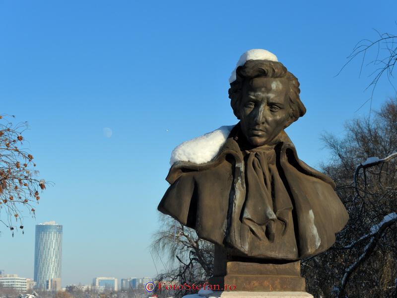 bust Frederic Chopin herastrau bucuresti