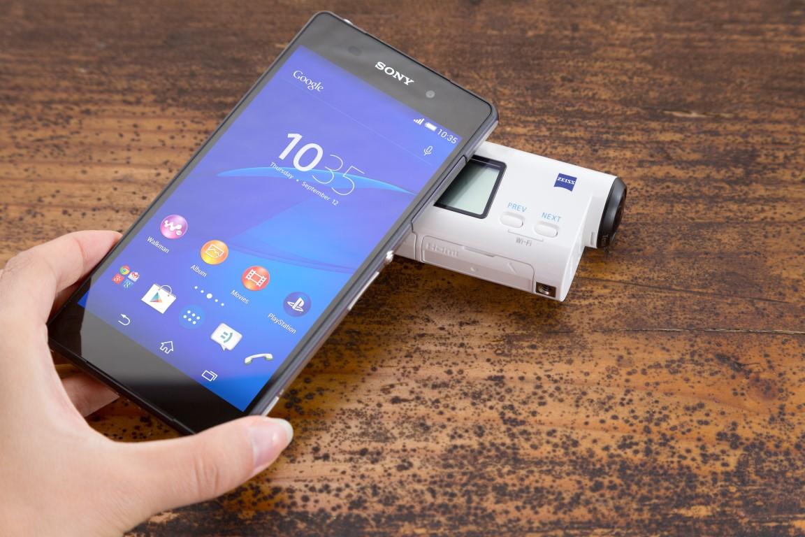 Sony lanseaza la CES 2015 doua noi modele Action Cam cu inregistrare 4K, respectiv Full HD