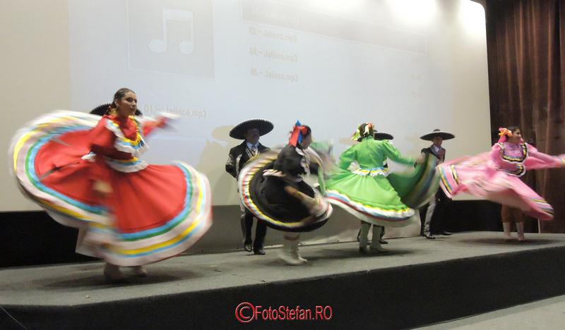 dansatori mexicani bucuresti
