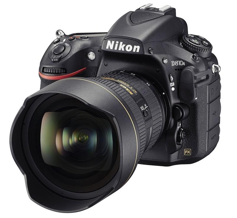 Nikon D810A dslr full frame