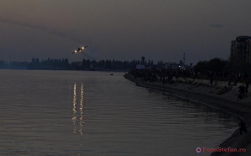 YAK 52 TW seara lacul morii