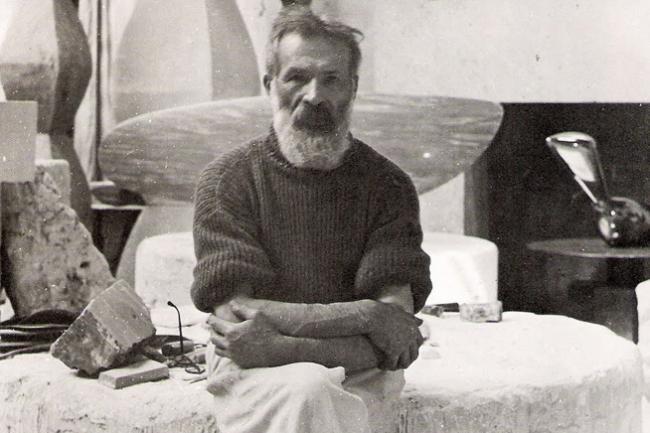 autoportret Constantin Brancusi