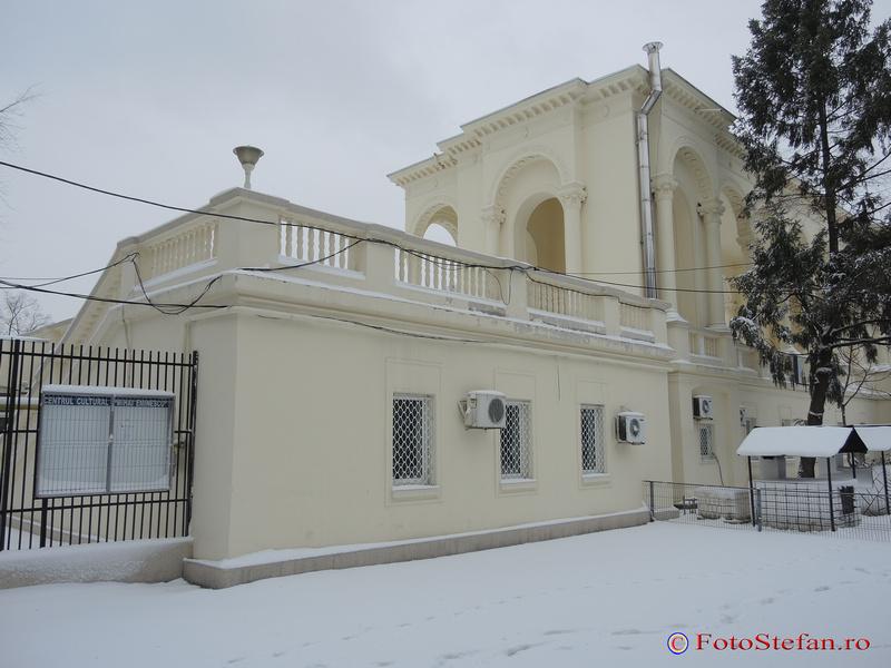 centrul cultural mihai eminescu parcul national bucuresti