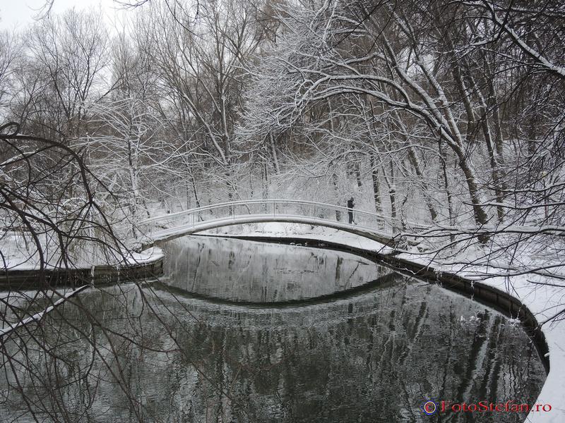 pod lac parc national bucuresti