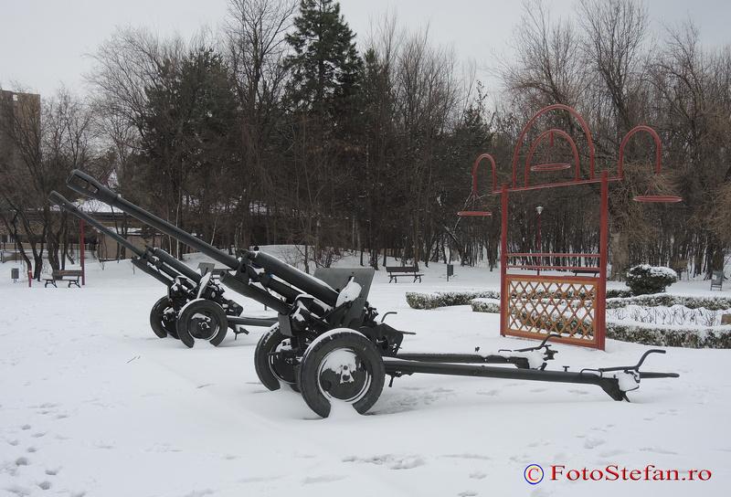 tun artilerie parc national bucuresti