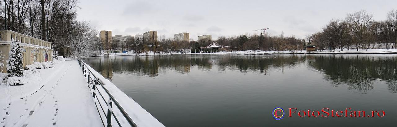 poza panoramica parcul national bucuresti iarna