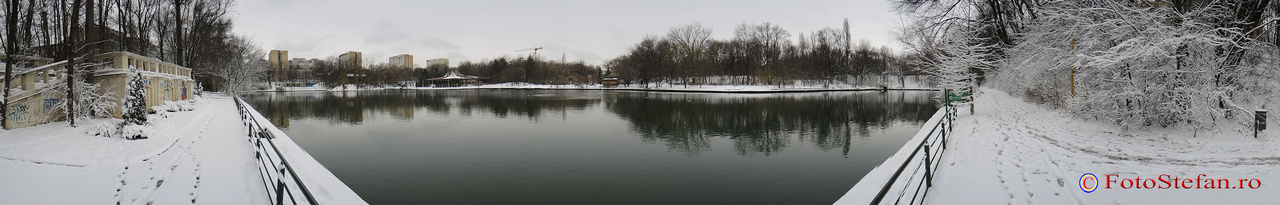 360 grade poza panoramica parcul national bucuresti iarna