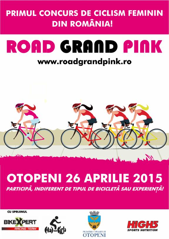 Road Grand Pink concurs ciclism fete