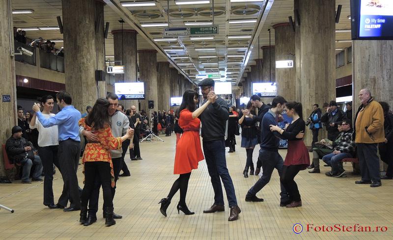 flashmob de tango bucuresti