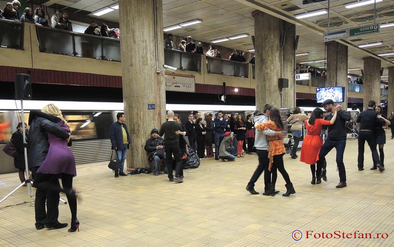 flashmob  tango unirii 1