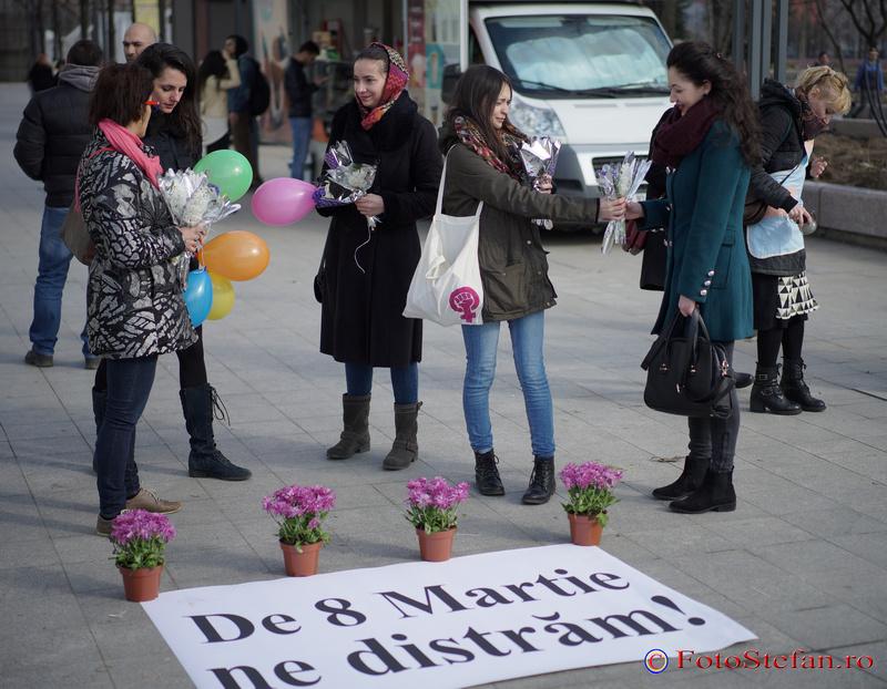 protest de 8 martie bucuresti