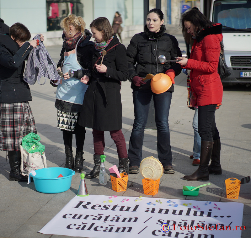 pregatiri protest 8 martie bucuresti piata unirii
