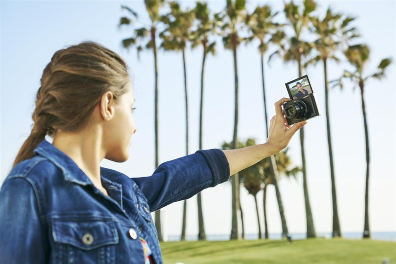 selfie aparat foto sony