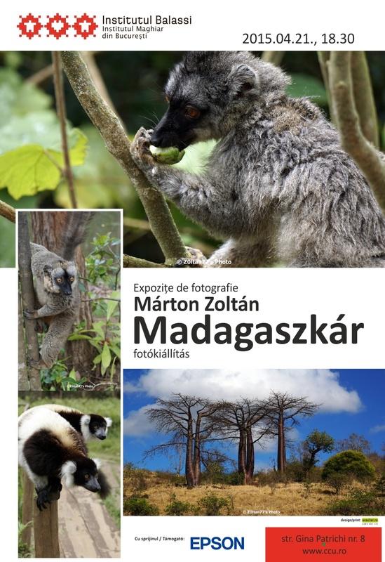 """expoziția de fotografie """"Madagascar"""" de la Institutul Maghiar din București"""