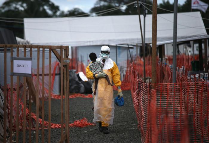 "John Moore  -  ""Ebola Crisis Overwhelms Liberian Capital"""