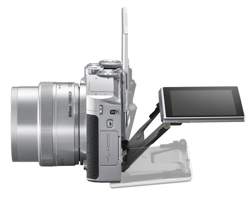 lcd rabatabil Nikon 1 J5