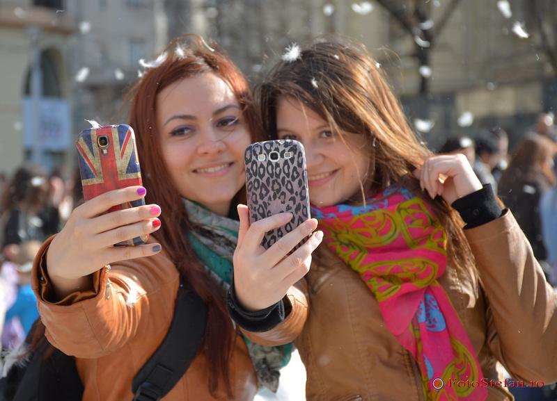 selfie la dublu