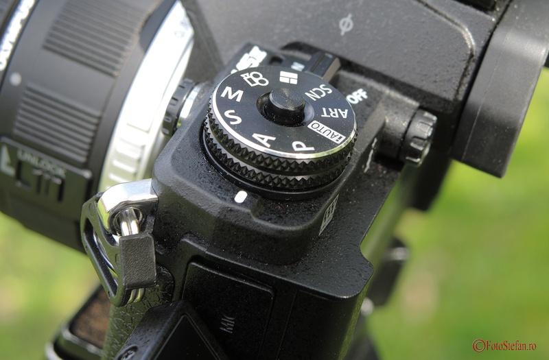 butoane Olympus OM-D E-M5 Mark II
