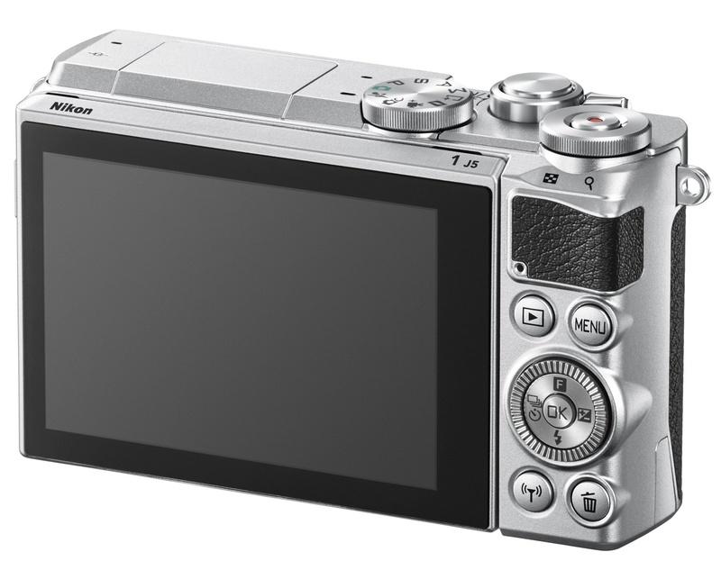Nikon 1 J5 butoane