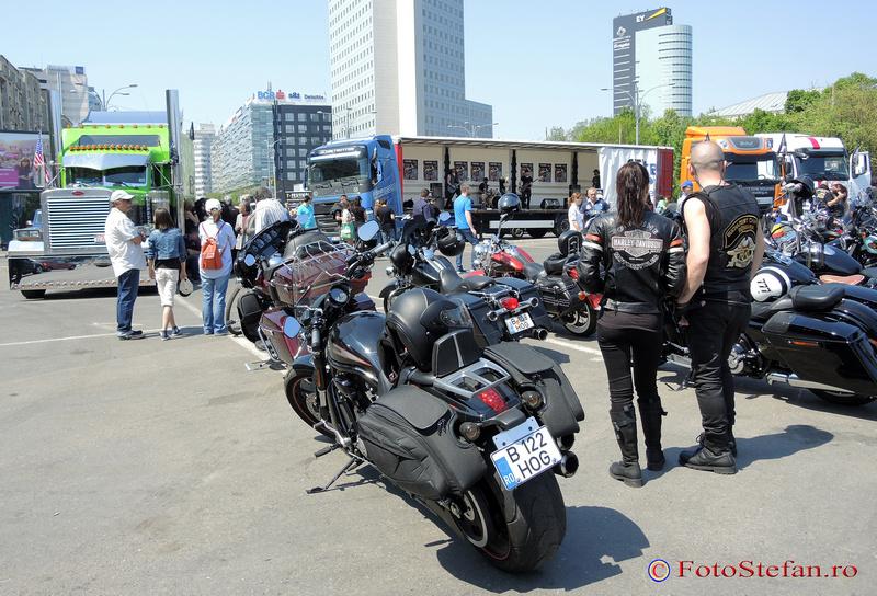 parada camioanelor si a motocicletelor bucuresti