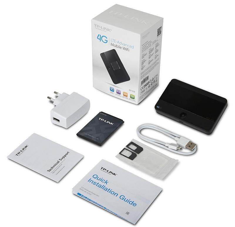 componente router mobil TP-LINK M7350