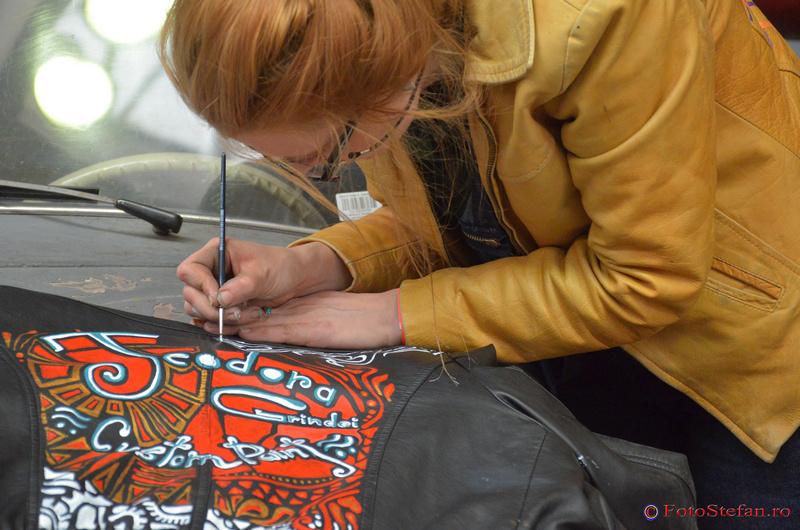 pictura desen arta urbana bucuresti
